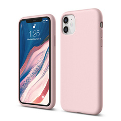Silicone Case for iPhone 11 - Lovely Pink