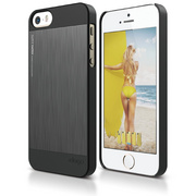 S5c Outfit Matrix Case for iPhone 5C - Black / Dark Gray