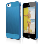S5c Outfit Matrix Case for iPhone 5C - Blue / Blue