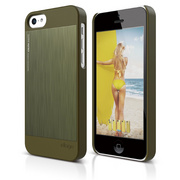 S5c Outfit Matrix Case for iPhone 5C - Camo Green / Camo Green