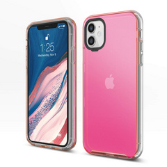 Hybrid Case for iPhone 11 - Neon Pink