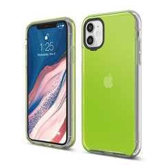 Hybrid Case for iPhone 11 - Neon Yellow