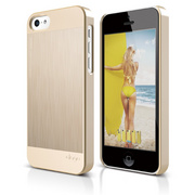 S5c Outfit Matrix Case for iPhone 5C - Gold / Gold