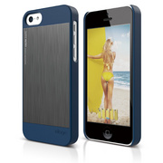 S5c Outfit Matrix Case for iPhone 5C - Jean Indigo / Dark Gray