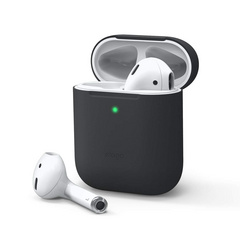 Airpods Skinny Silicone Case - Black