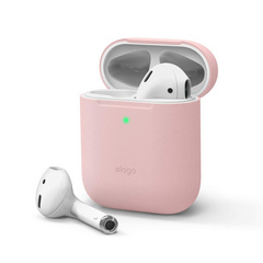 Airpods Skinny Silicone Case - Lovely Pink