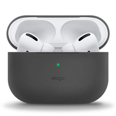 Airpods Pro Slim Silicone Case - Dark Gray