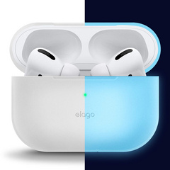 Airpods Pro Slim Silicone Case - Nightglow Blue