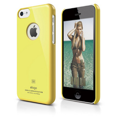 S5c Slim Fit Case for iPhone 5C - Yellow