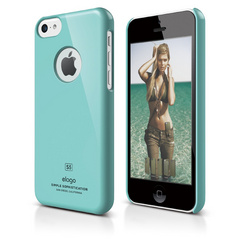 S5c Slim Fit Case for iPhone 5C - Coral Blue