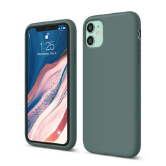 Silicone Case for iPhone 11 - Midnight Green