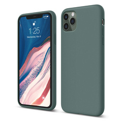 Silicone Case for iPhone 11 PRO Max - Midnight Green