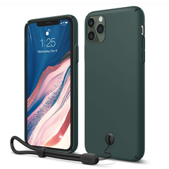 Slim Fit Strap Case for iPhone 11 PRO Max - Midnight Green