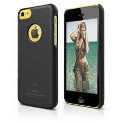 S5c Slim Fit Case for iPhone 5C - Soft Black
