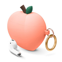 Airpods Peach Design Case - Peach