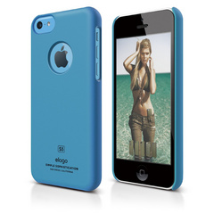 S5c Slim Fit Case for iPhone 5C - Soft Blue
