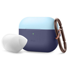 Airpods Pro Duo Hang Case - Jean Indigo/Pastel Blue-Nightglow Blue