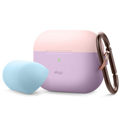 Airpods Pro Duo Hang Case - Lavanda/Pink-Pastel Blue
