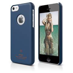 S5c Slim Fit Case for iPhone 5C - Soft Jean Indigo