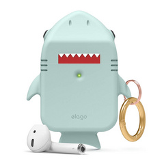Airpods Shark Design Case - Mint