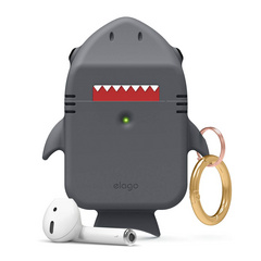 Airpods Shark Design Case - Dark Gray