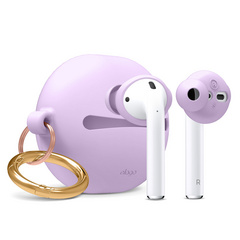 Airpods Earbuds Basic with Carrying Pouch - Lavanda