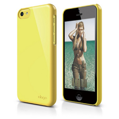 S5c Slim Fit 2 Case for iPhone 5C -Yellow