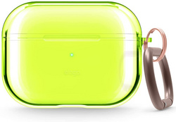 Airpods Pro Clear TPU Case - Neon Yellow