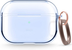 Airpods Pro Clear TPU Case - Acqua Blue