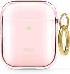 Airpods TPU Case - Clear Lovely Rose