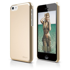 S5c Slim Fit 2 Case for iPhone 5C - Soft Champagne Gold