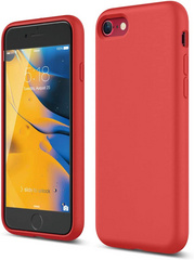 Silicone Case for iPhone 7/8/SE2 - Red