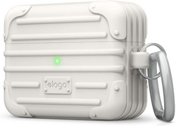 Airpods Pro Suit Case - Creamy White