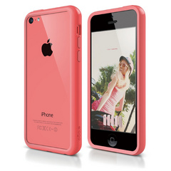 S5c Bumper Case for iPhone 5C - Pink