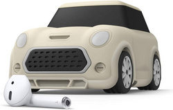 Airpods mini Car Design Case - Creamy White