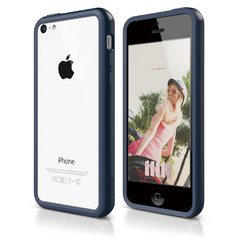 S5c Bumper Case for iPhone 5C - Jean Indigo