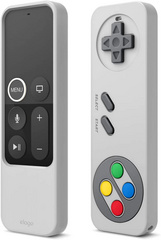R4 Intelli Retro Case for apple TV Remote - Light Gray