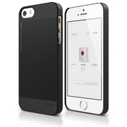 S5 Outfit Case for iPhone 5/5s/SE - Black
