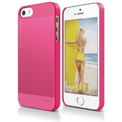 S5 Outfit Case for iPhone 5/5s/SE - Hot Pink