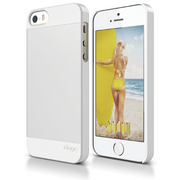S5 Outfit Case for iPhone 5/5s/SE - White