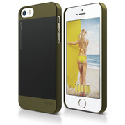 S5 Outfit Case for iPhone 5/5s/SE - Camo Green / Black