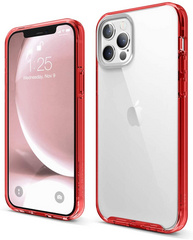 Hybrid Case for iPhone 12/PRO - Red