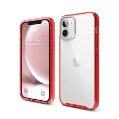 Hybrid Case for iPhone 12 Mini - Red