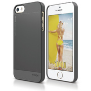 S5 Outfit Case for iPhone 5/5s/SE - Dark Gray