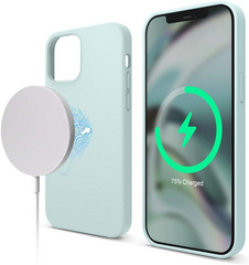 Magsafe Silicone Case for iPhone 12 Mini - Mint