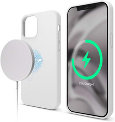 Magsafe Silicone Case for iPhone 12 Mini - White