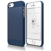 S5 Outfit Case for iPhone 5/5s/SE - Jean Indigo