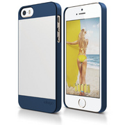 S5 Outfit Case for iPhone 5/5s/SE - Jean Indigo / Silver