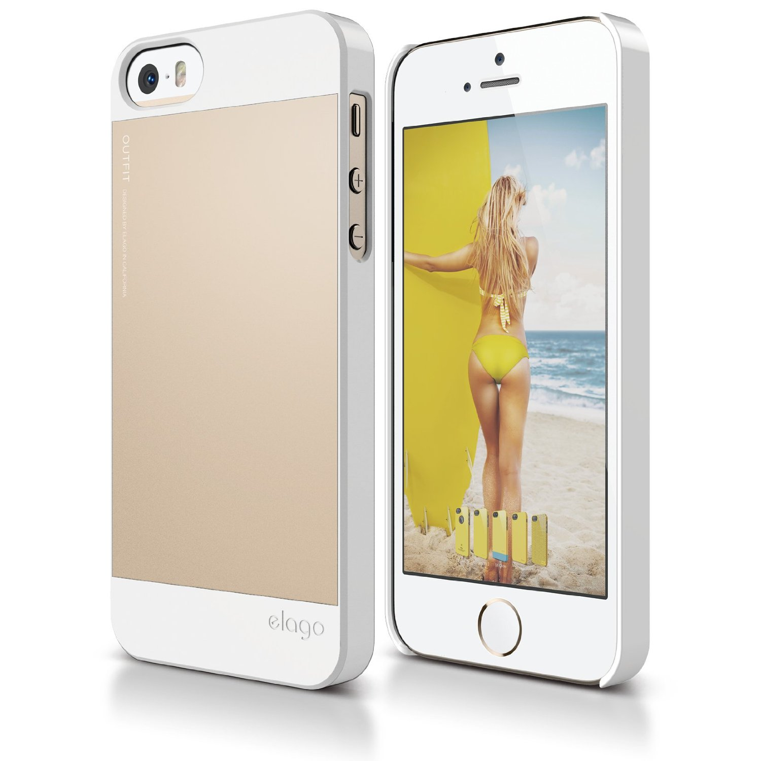 iphone 5s white and gold s5 for iphone 5 5s se white champagne gold 17522