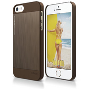 S5 Outfit Matrix Case for iPhone 5/5s/SE - Chocolate